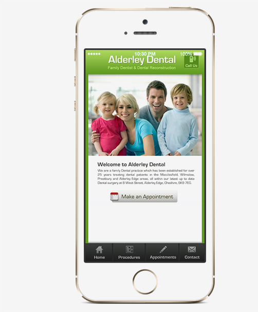 Dentist Apps for iPhone, Android mobile platforms