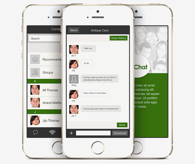 White label Enterprise mobile chat application development