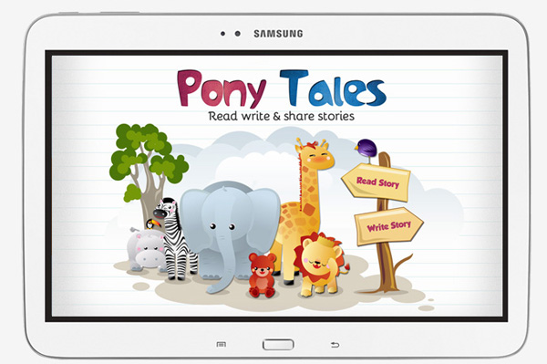 ipad app developers india storytelling app