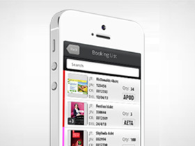 Mobile App development for UK Printing Industry to track jobs