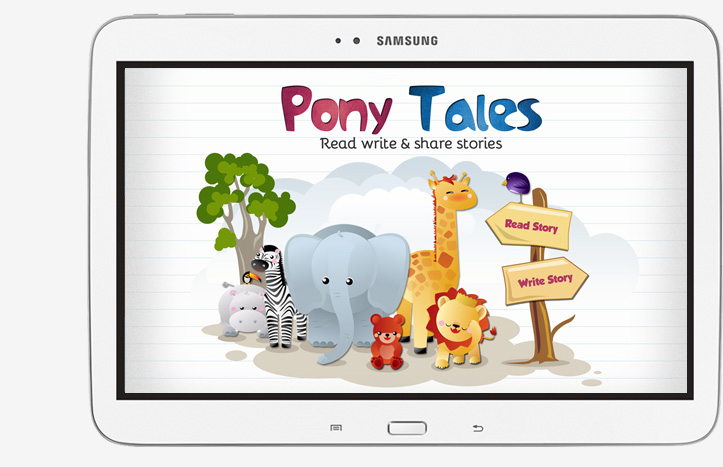 Storytelling app with short stories for kids with pictures